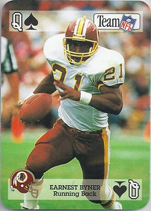 1992 Sports Decks Earnest Byner