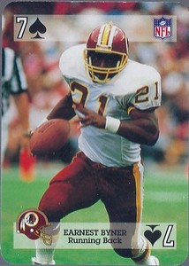 Earnest Byner 1992 Sports Deck Prototype 7