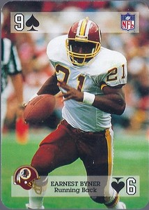Earnest Byner 1992 Sports Deck Prototype 9