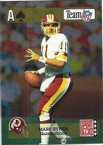 1992 Sport Decks Gold Promo Mark Rypien