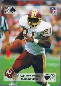 Earnest Byner 1992 Sports Deck Prototype 3