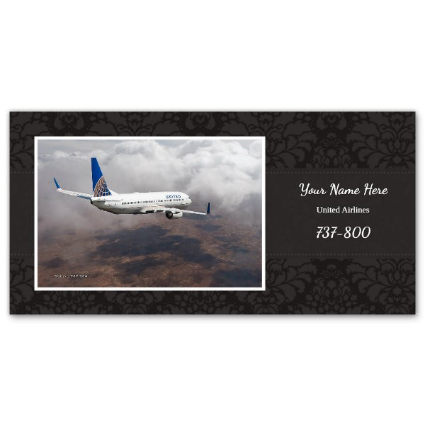 """Sample 4"""" x 8"""" Flat Card - Create Your Own"""
