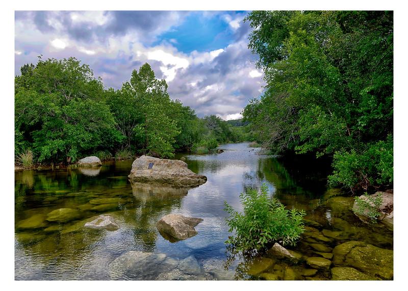 Barton Creek near Twin Falls