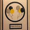 BA1 - Birthday Balloon card (outside)