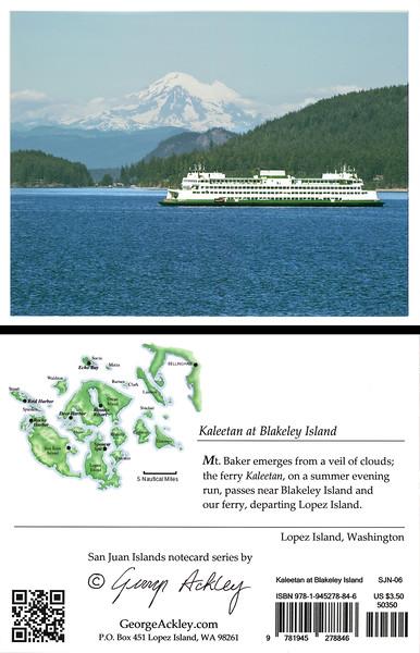 Kaleetan at Blakley Island