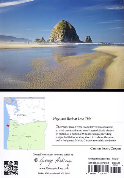 Haystack Rock at Low Tide