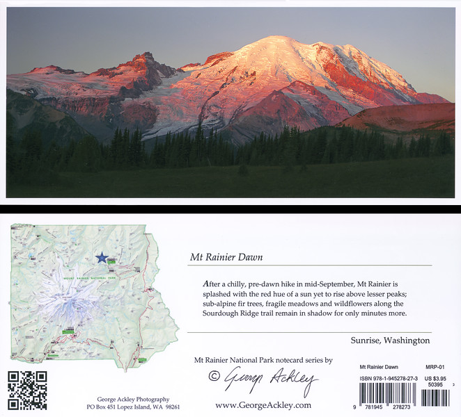 Mt. Rainier Dawn