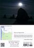 Moon over Haystack Rock