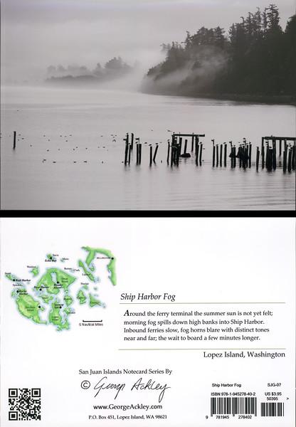 Ship Harbor Fog