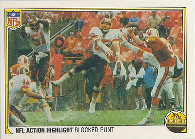 1983 Blocked Punt Fleer Team Action