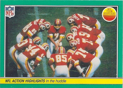 1984 In The Huddle Fleer Team Action