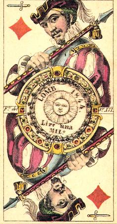 Tarocco Della Corona Ferrea - Fernando Gumppenberg 1840 [Vito Arienti 1979 facsimile]