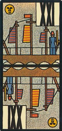 Jugendstil-Tarock illustrated by Ditha Moser