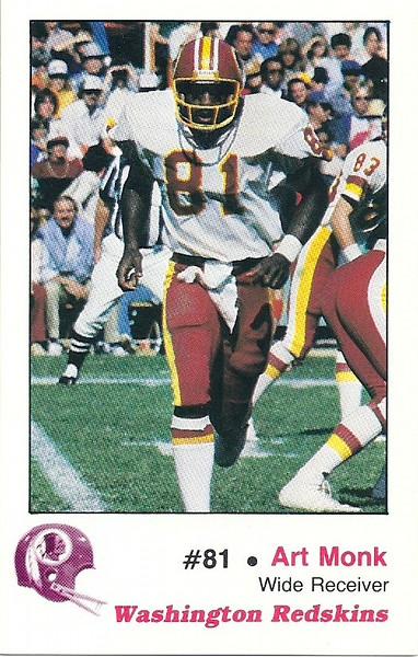 Art Monk 1982 Redskins Police