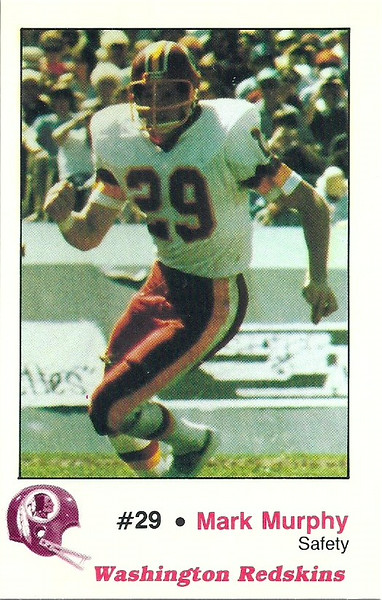 Mark Murphy 1982 Redskins Police