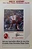 1984 Redskins Police Cards Joe Theismann Poster