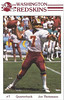 Joe Theismann 1985 Redskins Police Card