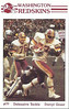 Darryl Grant 1985 Redskins Police Card