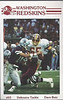 Dave Butz 1985 Redskins Police Card