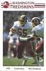 Mel Kaufman 1985 Redskins Police Card