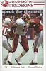 Dexter Manley 1985 Redskins Police Card