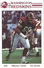 Joe Jacoby 1985 Redskins Police Card