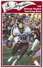 George Rogers 1986 Redskins Police Card