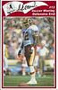 Dexter Manley 1986 Redskins Police Card