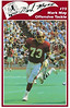 Mark May 1986 Redskins Police Card