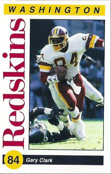 Gary Clark 1991 Redskins Police