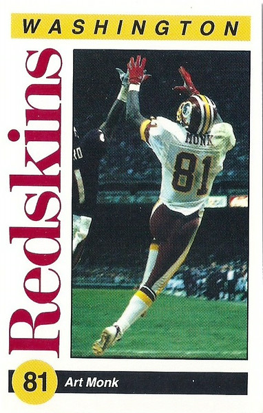 Art Monk 1991 Redskins Police