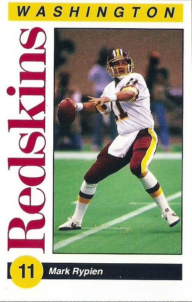 Mark Rypien 1991 Redskins Police