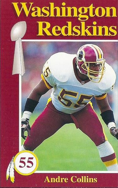 Andre Collins 1992 Redskins Police