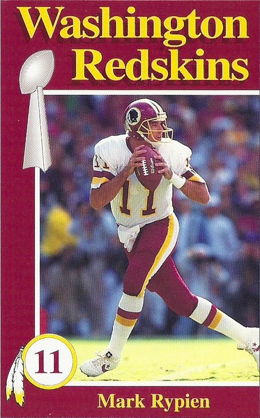 Mark Rypien 1992 Redskins Police
