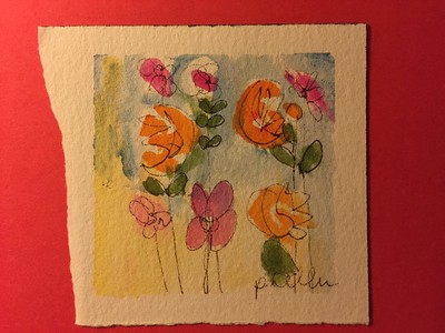 Original Watercolor by Pat Heller