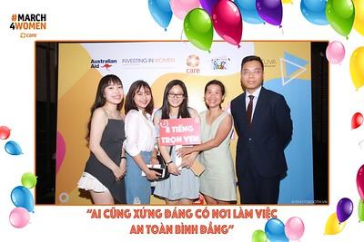 """Care.org Vietnam - Lễ Trao giải Cuộc thi """"8 Tiếng Trọn Vẹn"""" @ BHD Cinema Vincom Hà Nội - instant print photo booth in Ha Noi - Chụp hình in ảnh lấy ngay tại Hà Nội"""