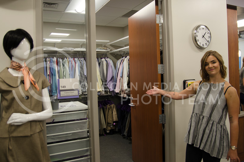 Career Closet program at Kansas State University provides professional attire for students free of charge. (Saya Kakim|Collegian Media Group)