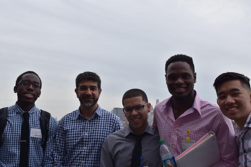 Google's Samir Janveja with students
