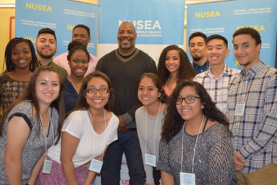 New Yorker reporter Jelani Cobb joins StreetSquash for a guest speaking session