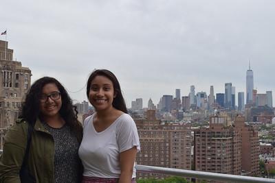 CitySquashers Stacy Maceda and Mariela Mendoza
