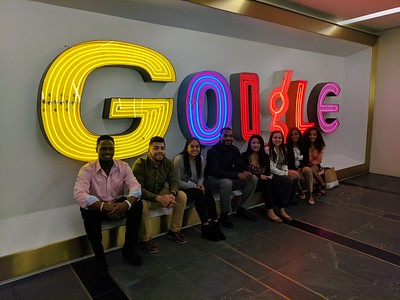Students visit Google offices