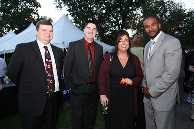 Derek Devoe, William Sullivan, Anna Greener, Jonathan Garcia  March of Dimes Citizen of the Year Award - Ziggy Burns at Lenzi's Catering in Dracut