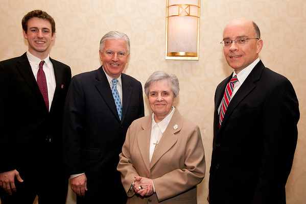 Max Meehan, Marty Meehan, Sister Prescille, Henri Marchand