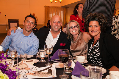 Nevins Family of Services - Passion for Fashion - Merrimack Valley Country Club Howard Rich, Gary Sklar, Melanie Perry, Kerry Slattery
