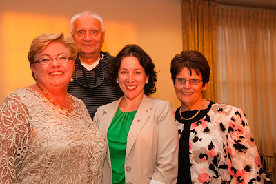 Nevins Family of Services - Passion for Fashion - Merrimack Valley Country Club Kathy Fitzgerald, Ray Wrobel, Senator Kathleen O'Connor Ives, Joyce Shannon