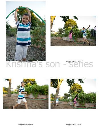 Krishna's son - series