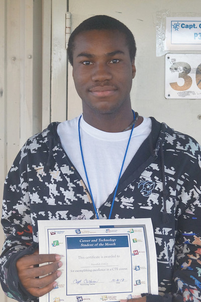 September 2013 - CTE Students of the Month