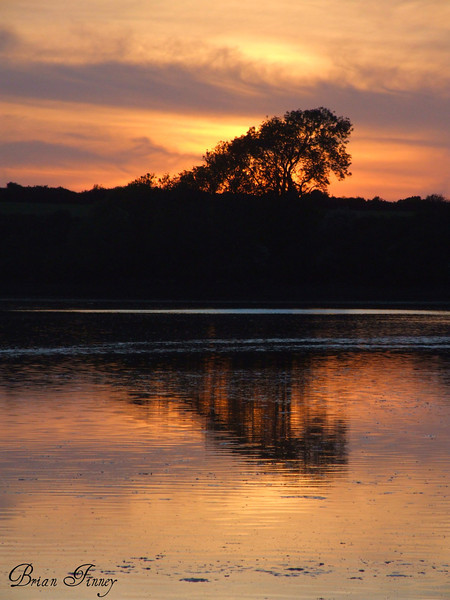 Sunset On The Carew Estuary