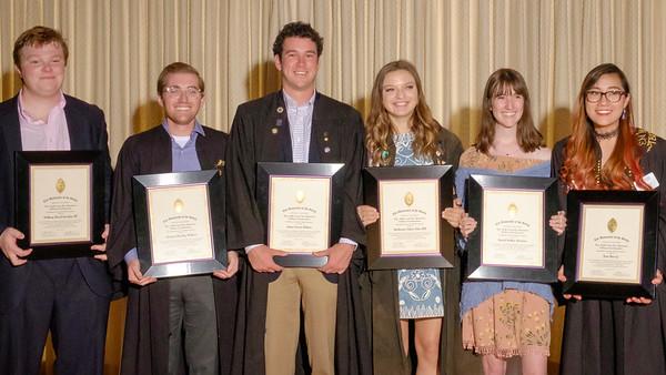 2017 Carey Fellows Awards Ceremony