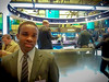On the NYSE trading floor